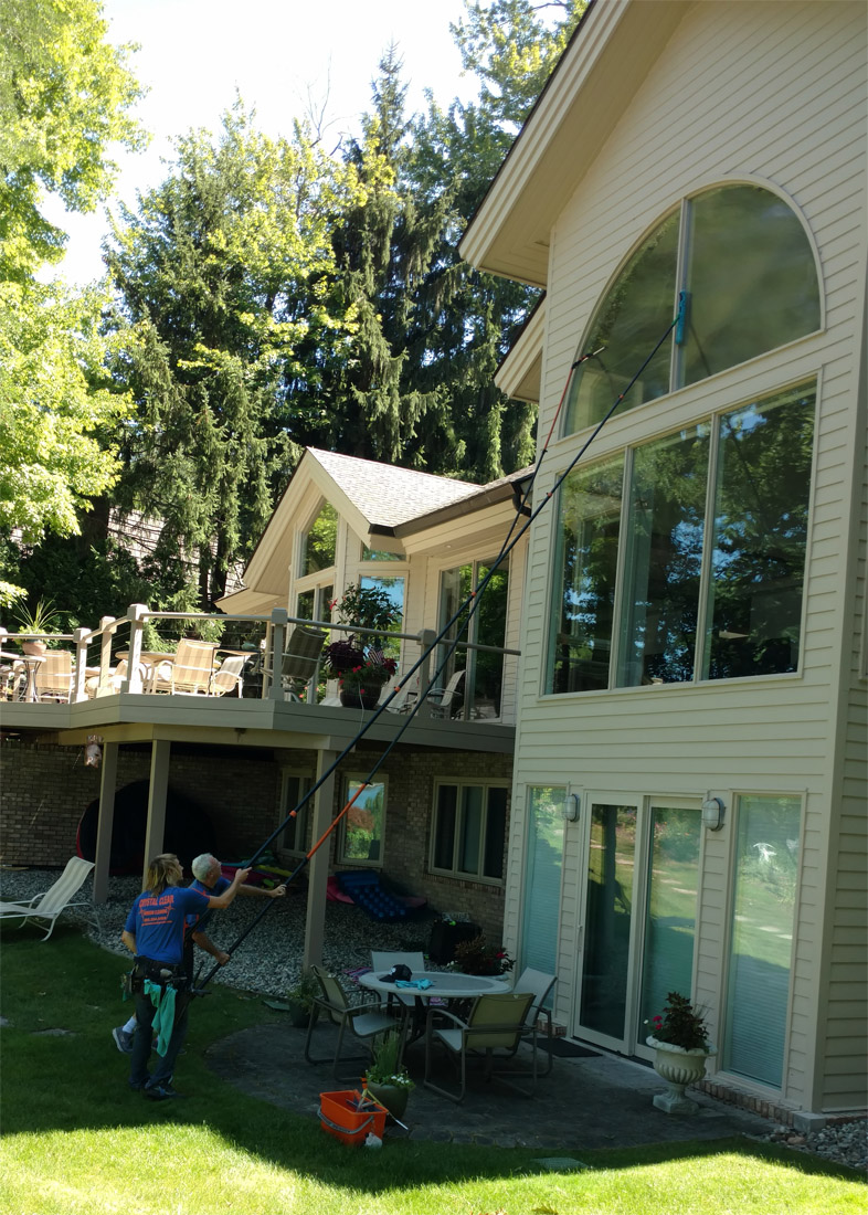 Window Cleaning In West Bloomfield Michigan